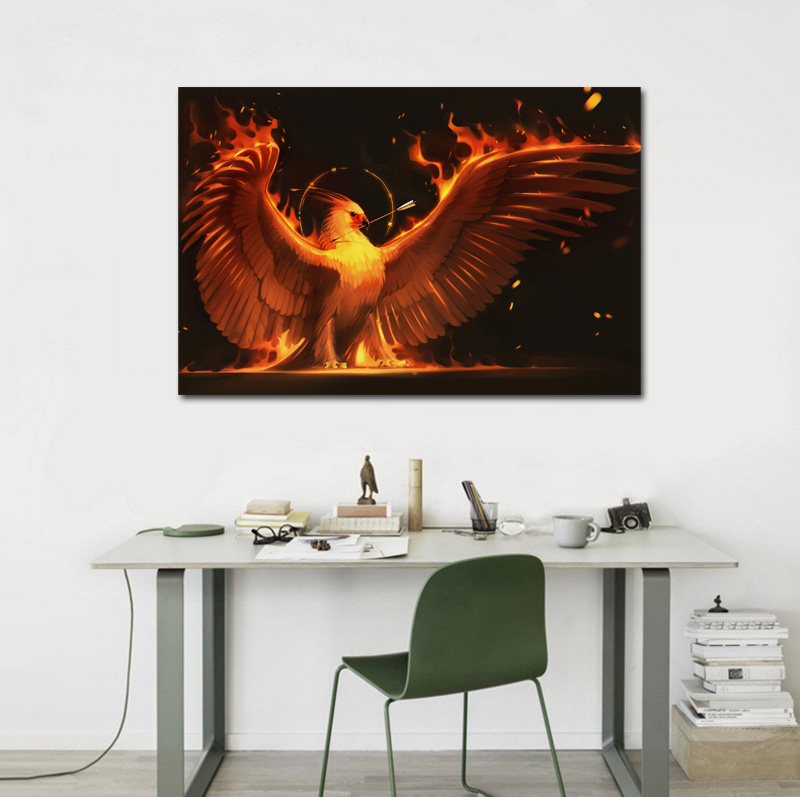 Fire Arrow Phoenix Bird Art Wings Fire Birds Fantasy Flame