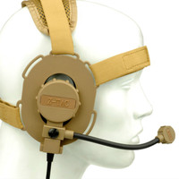 Bowman Tactical Headset Evo III Headset without PTT Adapter Z 029 Tactical Auriculares Airsoft Hunting Military Acessories