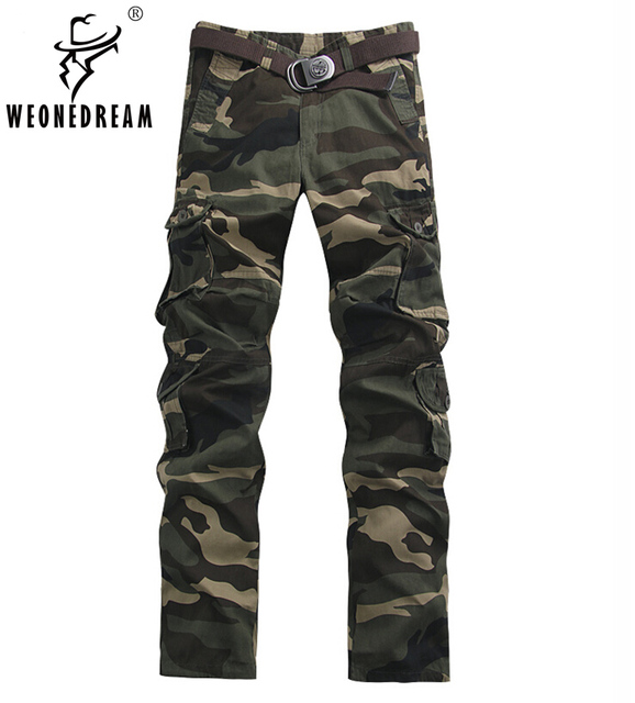 poches Cargo Baggy Militaire Homme Mode Pantalon Camouflage Homme Multi Pantalons Cargo Casual Pantalon 2018 BvpwqITn