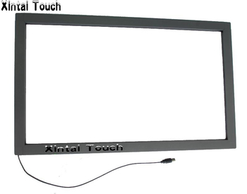 Free Shipping! 32 inch IR Touch Screen Panel Overlay without glass / Real 10 Points interactive touch screen frame
