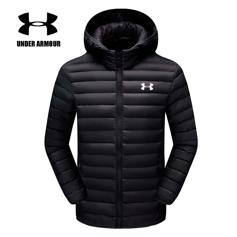 Under Armour Men winter training jacket warm outdoor slim fit jacket windproof clothes chaqueta hombre Asian size L-4XL hot sale 2016 new arrival men s winter jacket casual slim fit fashion solid hooded man jacket winter warm high quality m 4xl
