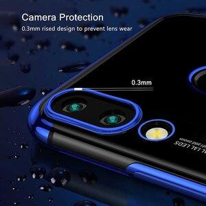 Image 3 - Poszycie skrzynka dla Huawei P Smart 2019 skrzynka zderzak przezroczysty silikon tylna pokrywa dla Huawei P Smart Z Plus 2019 P Smart 2018 skrzynka