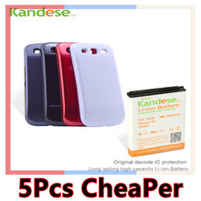 sale KANDESE Brand New High Capacity 6400mAh Li-ion repalcement Extended battery for Samsung Galaxy S3 i9300 Free shipping