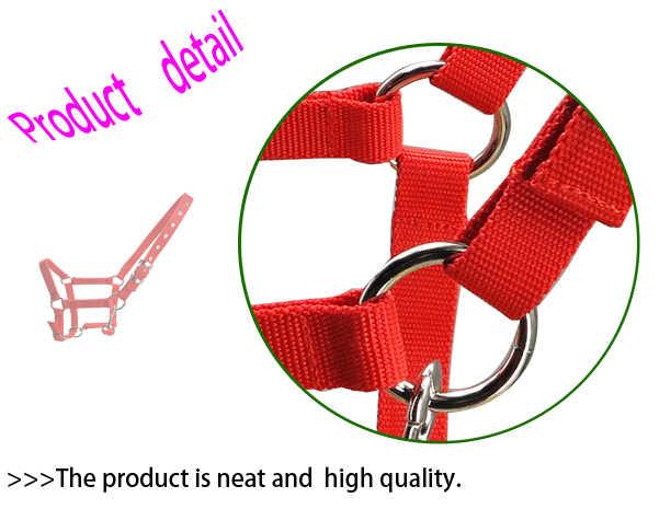 Ücretsiz kargo at yular, metal deliği, Sünger yastık yapar yumuşak ve rahat (RLT2005B)
