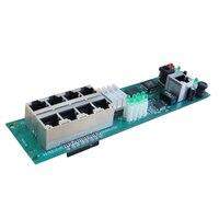 Mini roteador oem fabricante venda direta barato com fio caixa de distribuição 8 port roteador módulos oem com fio roteador módulo 192.168.0.1 Módulo sem fio     -