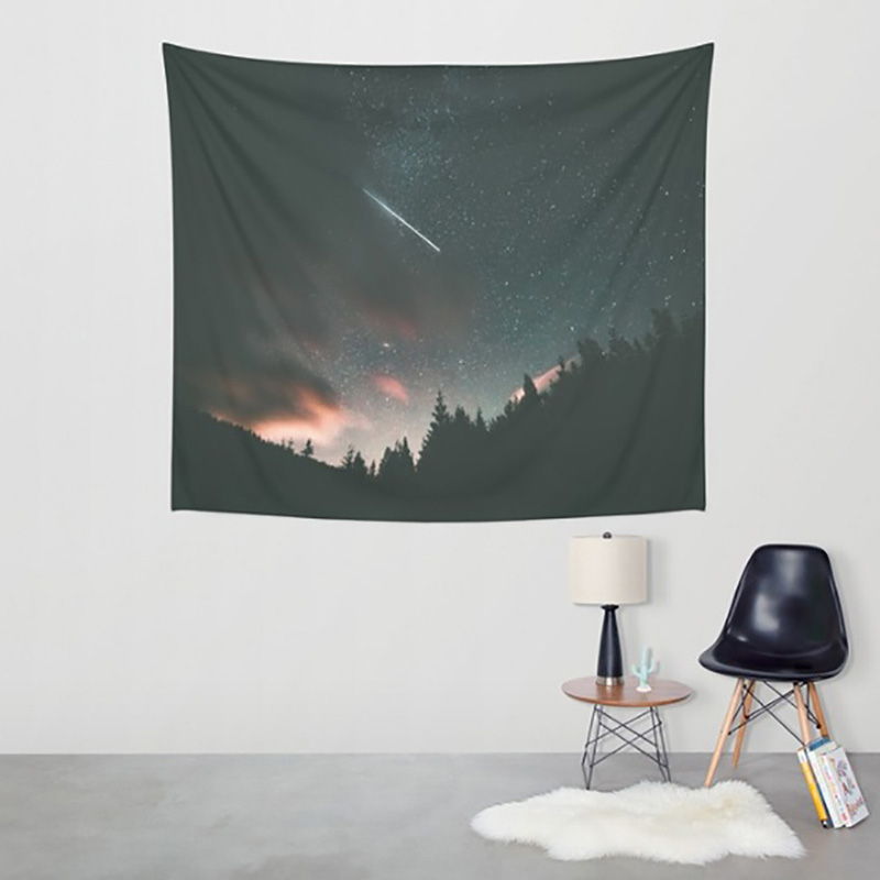 Home & Garden Aurora Wall Hangings Tapestry Throw Decoration Boho Home Party Decor Outdoor Picnic Mat Towel Square Sofa/bed Cover 2018