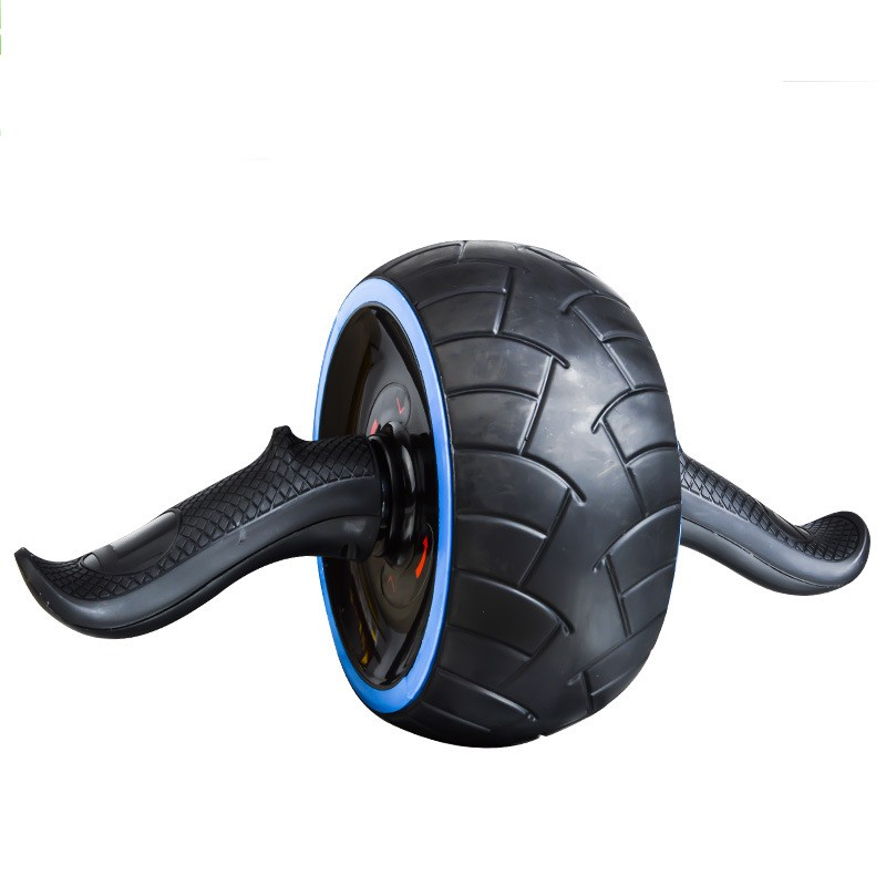 2018 No Noise Abdominal Wheel AB Wheel Fitness Workout Abdominal Trainer Exercise Wheel Knee Pads Gym Equipment Belly Exercises
