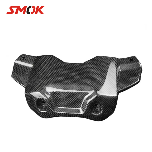 SMOK Motorcycle Accessories Carbon Fiber Front Tank Cover Protector For Yamaha MT-09 FZ-09 MT 09 MT09 FZ 09 FZ09 2014-2017