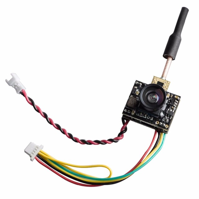 AKK AIO-SA 5.8G Mini 25mW/50mW/100mW/200mW Switchable 40CH Micro AIO Camera Support Smart Audio Like Tiny Whoop Blade Inductrix
