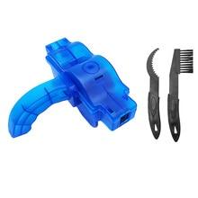 Очиститель цепи для чистки велосипеда 3D кисть для цепи набор инструментов для мытья MTB защита велосипеда масляная велосипедная цепь для горного велосипеда