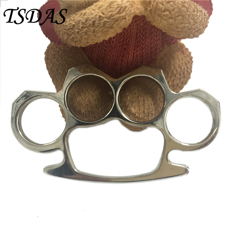 High quality antique silver finish knuckle shape metal weapon belt buckle nice gift for men 1pc