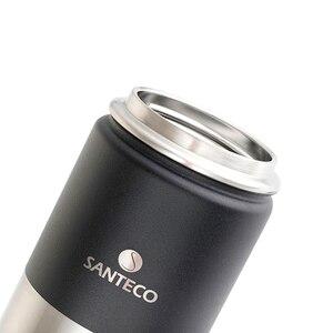 Image 5 - Santeco 500 Ml Giữ Nhiệt Có Dây Treo Tường Đôi Bình Giữ Nhiệt Chân Không Thép Không Gỉ Trà Cà Phê Sữa Du Lịch Nhiệt Bình Quà Tặng Thermocup