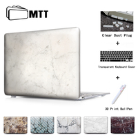 Marble Plate Texture Crystal Laptop Case For Macbook Air 13 Case Air 11 Pro 13 15