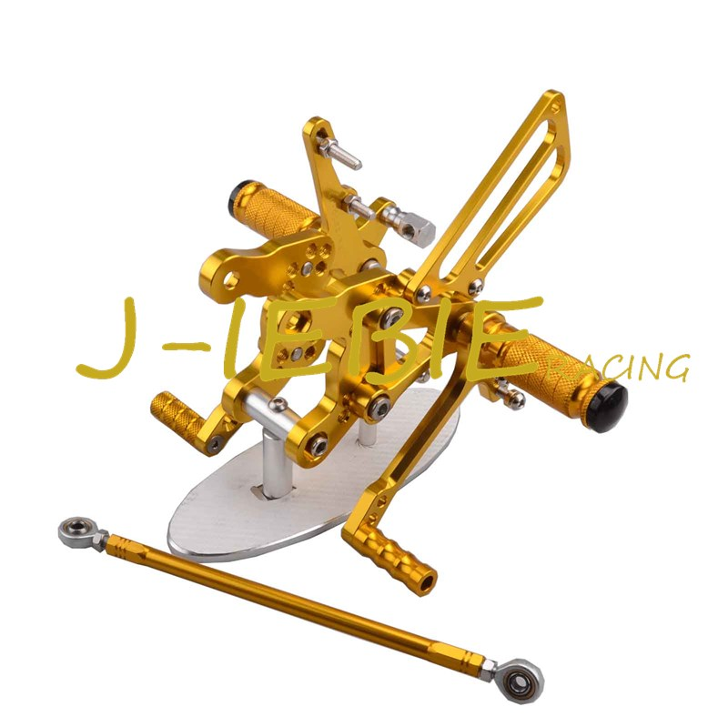 CNC Racing Rearset Adjustable Rear Sets Foot pegs Fit For Honda CBR893RR CBR919RR 1994-1999 CBR400 NC29 GOLD kingsun rear adjustable ball joint camber control suspension arm kit for 1990 1997 honda accord acura cl tl1996 1999 blue