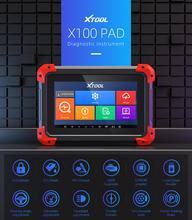 XTOOL X100 PAD klucz programujący profesjonalne Auto car narzędzie diagnostyczne OBD2 funkcje specjalne lmmobilizer Key transponder Update tanie tanio LED BDM Frame Probe Pens 2019 10cm 21 8cm Plastic Auto key programmer Bluetooth Wifi Latest 15cm Guangdong China (Mainland)