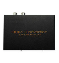 HDMI Audio Extractor HDMI Ke HDMI + Optical TOSLINK SPDIF + Analog RCA L/R Audio Stereo Video Splitter converter untuk Blu-ray PL(China)