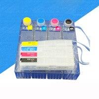 Hp officejet pro x451dn/x451dw/x476dn/x476dw/x551dw 프린터 용 잉크 카트리지 공급 시스템 hp970/971 용 칩이있는 ciss 시스템