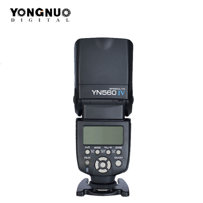 YONGNUO YN560 IV YN560IV Wireless Flash Speedlite Master Slave Flash for Canon Nikon Pentax Olympus Fujifilm Lumix DSLR Camera yongnuo yn560 iv yn560iv wireless master radio flash speedlite 2pcs rf 605c rf605 lcd wireless trigger for canon dslr cameras
