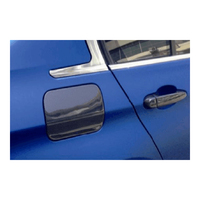 Carbon Fiber Auto Car Oil Box Cover Fuel Tank Caps For BMW F22 2 Series 2014