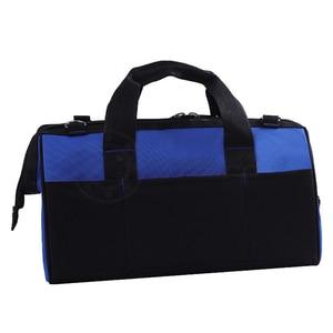 """Image 3 - 1 Pc wodoodporna torby narzędziowe duża pojemność torba na narzędzia wielofunkcyjny pogrubienie pracy kieszonkowy zestaw narzędzi do naprawy 14 """"17 """"19"""""""