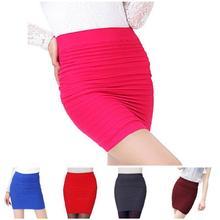 2019 Newly Fashion Droppshiping Womens Office Skirt Casual Pencil OL Wear BFJ55