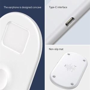 Image 5 - Baseus 3 で 1 チーワイヤレス充電器 apple の iphone xs × 三星 S10 10 ワット 3.0 高速私はの充電とヘッドフォン