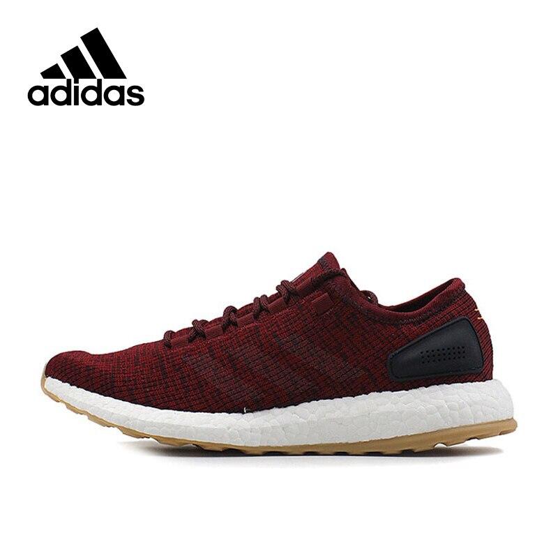 Adidas Nouvelle Arrivée Authentique de Boost Pur Hommes Respirant Chaussures de Course Sport Sneakers BA8895
