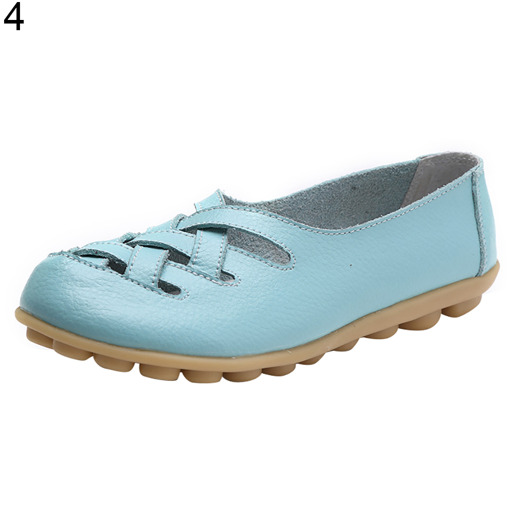 Women Breathable Sandals Spring Summer Fashion Flats Hollow Out Loafers Shoes 2018 hollow out breathable comfortable fashion head casual flat women shoes tenis feminino spring and summer shoes woman flats