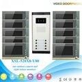 """IR Night Vision for Villa Apartment Eye Door bell 7""""TFT LCD Color Video Door Phone Doorbell Intercom System 1 Camera 10 Monitor"""