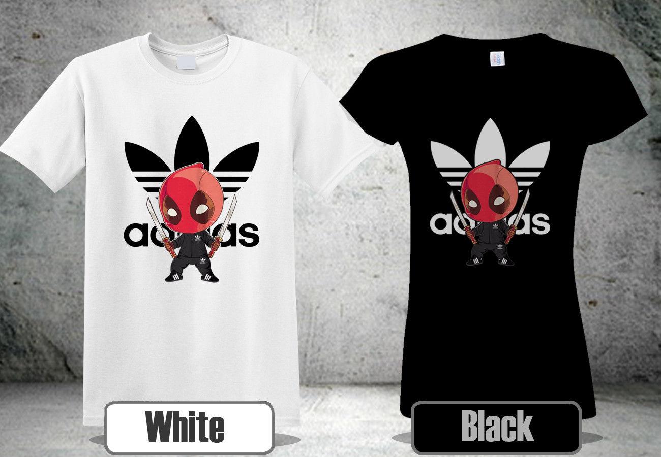deadpool t shirt adidas