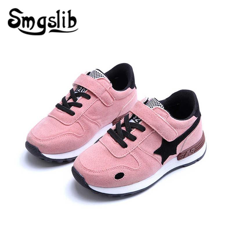3a98f7ebf Детские кроссовки для девочек повседневные спортивные кроссовки для  мальчиков из искусственной кожи детские кроссовки 2018 плоская