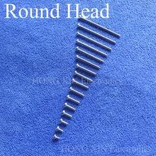 1Pcs Round Head Screws M3 304 Stainless Steel Mushroom Hexagon Socket Button Head Screw Phillips Crosshead Thread Bolt