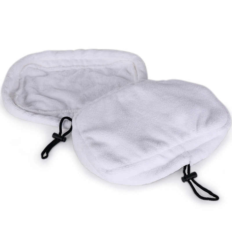 2 PCS 9in1 Microfiber Reusable Pads For H2O H20 Steam Mop Replacement Cloths Shark Mop Cloth