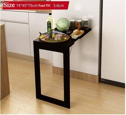 table pliante invisible a suspendre au mur bureau d agrandissement pliable pour cuisine