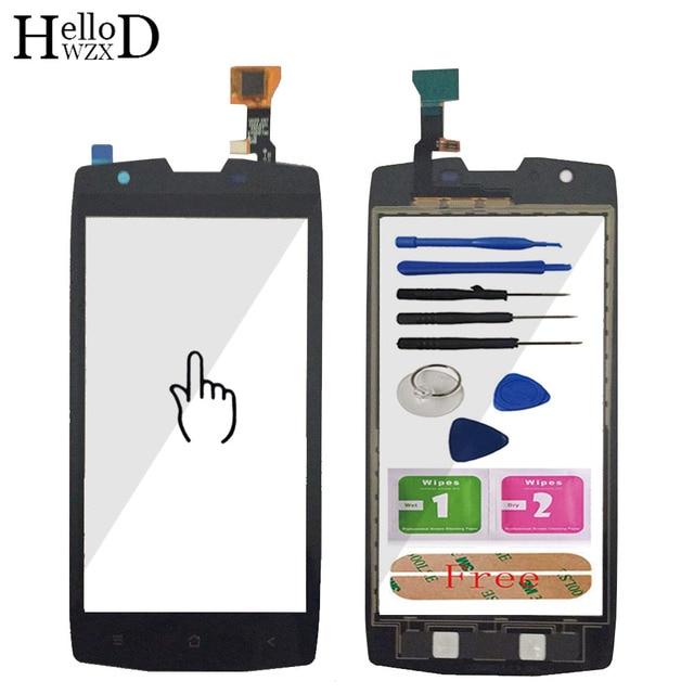HelloWZXD 5.0 Touch Glas Touch Screen Digitizer Panel Voor Glas Voor BlackView BV7000 BV 7000 Lens Sensor Tools + lijm