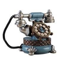 ヴィンテージブック電話貯金箱家の装飾の装飾品レトロ家具置物電話ミニチュアホーム装飾工芸キッズギフ