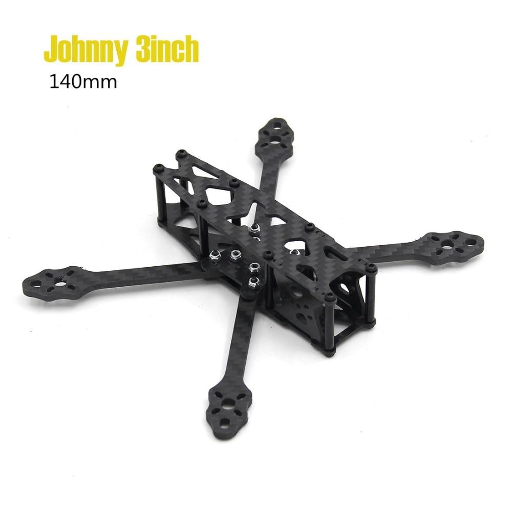 Комплект квадрокоптера с толстой мини рамкой Johnny 3 дюйма 140 мм с 3 мм|Детали и аксессуары|   | АлиЭкспресс