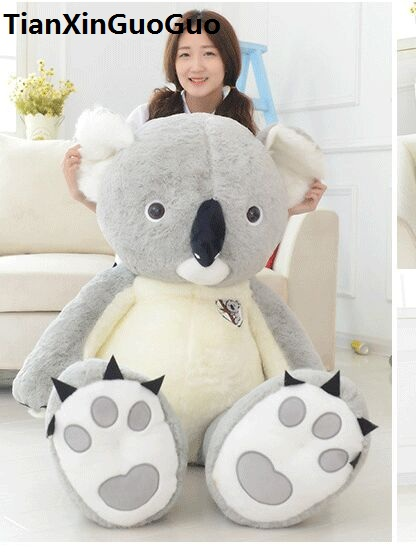 stuffed plush toy large 150cm lovely koala soft plush toy hugging pillow birthday gift h0808 cute animal soft stuffed plush toys purple bear soft plush toy birthday gift large bear stuffed dolls valentine day gift 70c0074