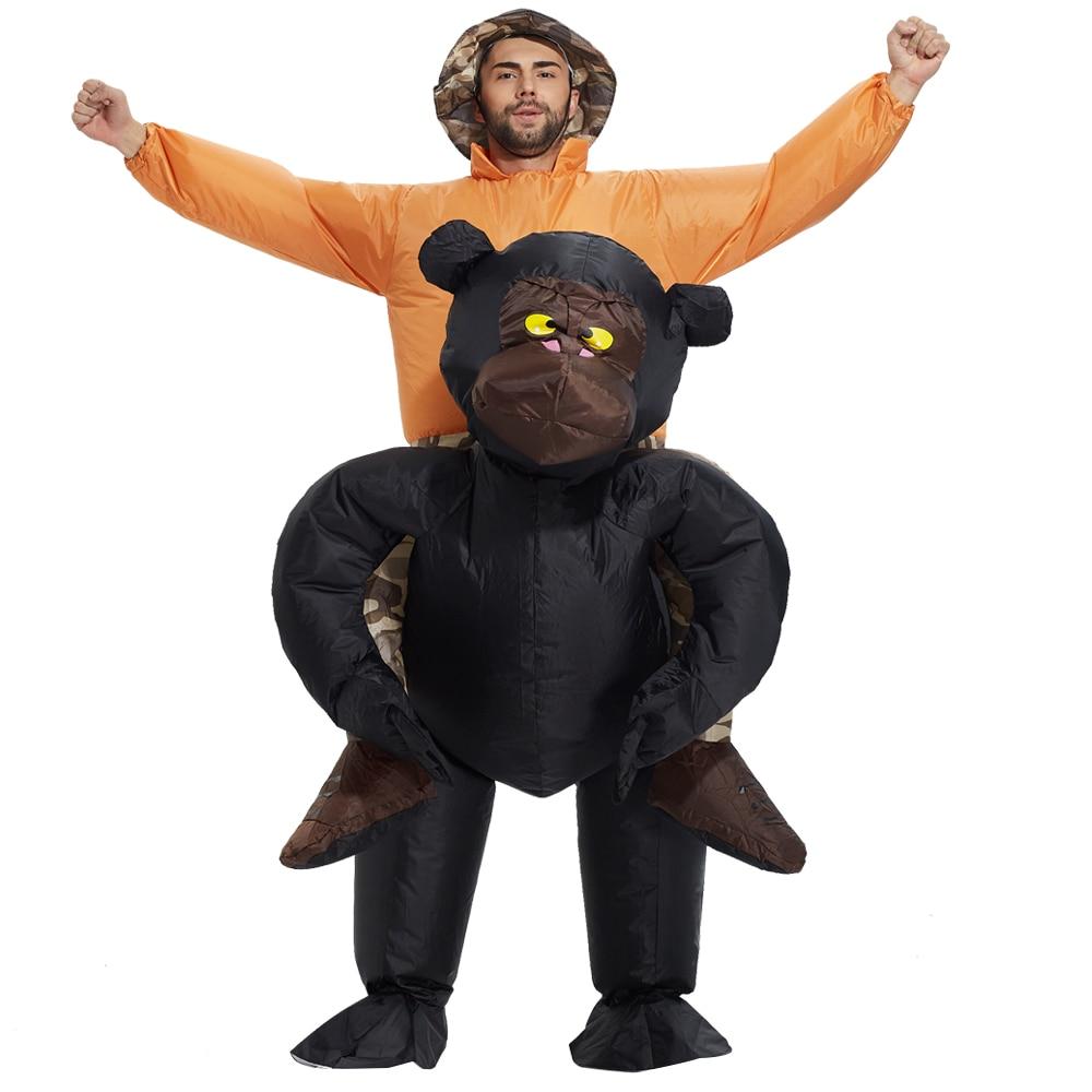 Гориллы костюмі Косплей партиясы - Костюмдер - фото 4