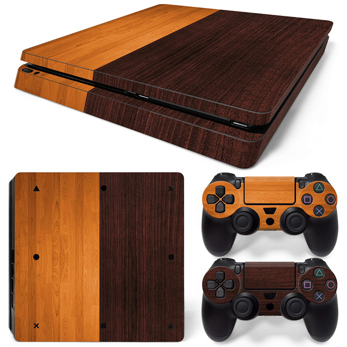 Free Drop Shipping for PS4 Slim Vinyl Skin Decal Cover for Sony PlayStation 4 Slim for PS4 Console Sticker TN-P4Slim-20024