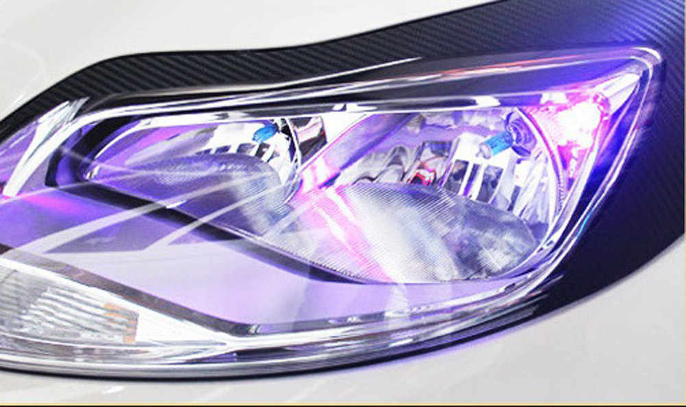 Car headlight color film chameleon change automatic tone vinyl package sticker headlight film 30*60CM 19Mar15