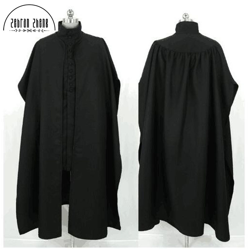 Professor Severus Snape Cosplay Costume For Adult Halloween Party Costumes