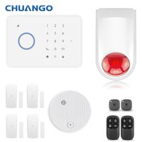 Chuango G5 315MHZ IOS Android APP Control Wireless Home Security GSM Alarm System Remote Control Sensor Kit