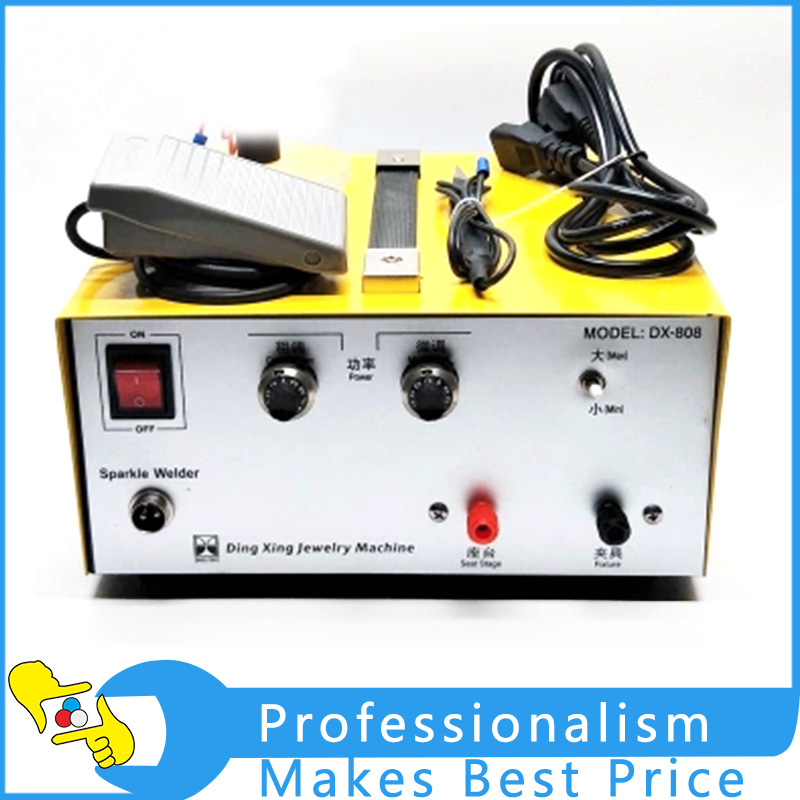 DX80A High-Power Laser Spot Welding Hand-held Pulse Spot Welder Touch the Machine Gold Tools Jewelry Spot Welding Tool цена и фото