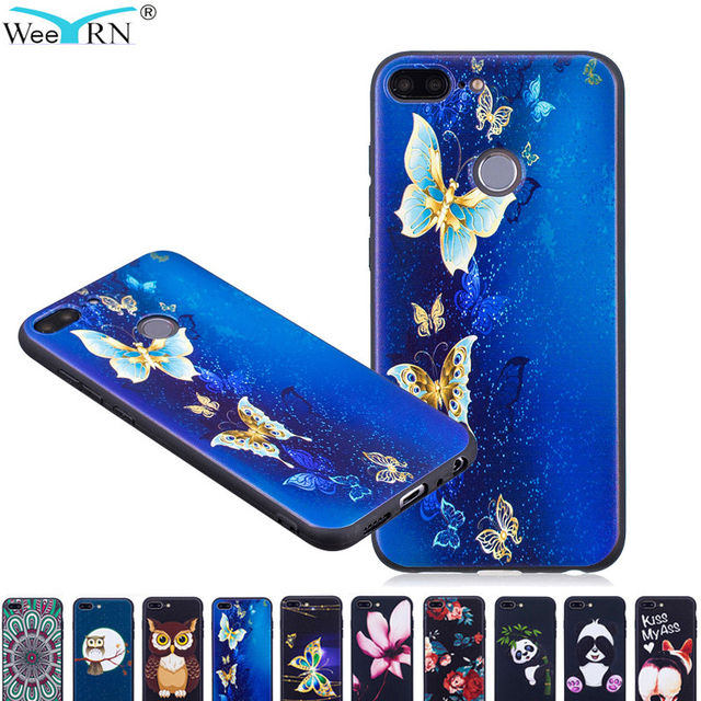 info for 2b668 db262 US $3.3 20% OFF|WeeYRN Luxury Soft Case For Huawei Honor 9 lite Case 3D  Cute Silicone TPU Full Protective Cover for Huawei Honor 9 lite Funda-in ...