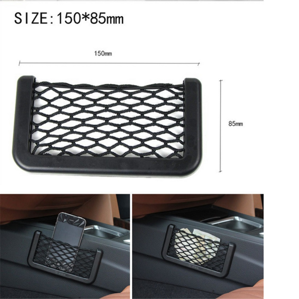 Car Phone Box Compartment Net For KIA RIO K2 K3 Sportage Forte SORENTO CERATO Soul Car Carrying Bag Car Styling High Quality custom fit car floor mats for kia rio k2 spectra cerato forte k5 optima k3 kx3 sportage kx5 sorento 3d car styling carpet liners