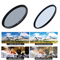 2pcs/lot Digital Boy 67mm UV Lens Filter+67mm Circular Polarizing CPL Filter kit for Canon 18-135 70-200 Nikon 18-105 free ship