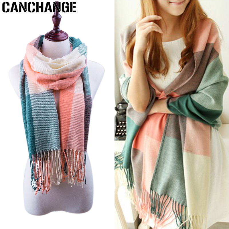 Abstract Colorful Peacock Adults Winter Warm Scarf Fashion Scarves Shawl Gift