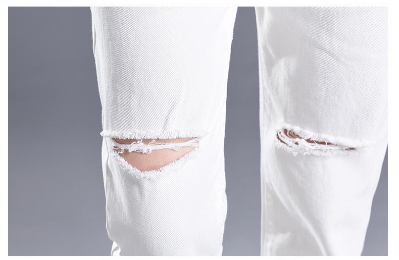 HTB1Oo2oSpXXXXciXFXXq6xXFXXXY - Women High Waist Jeans Ripped Solid JKP127