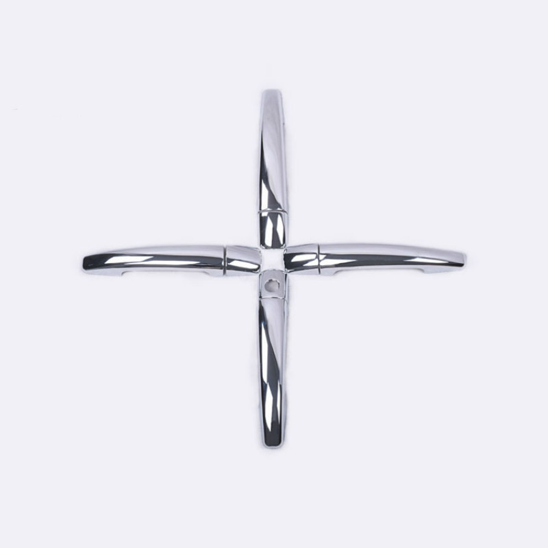 FUNDUOO FOR CITROEN C4 C4 PICASSO C6 PEUGEOT 207 308 407 CHROME DOOR HANDLE COVER TRIM CAR STYLING ACCESSORIES in Car Stickers from Automobiles Motorcycles